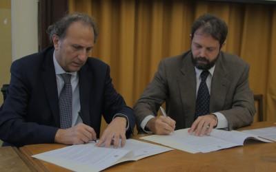 La firma del Patto